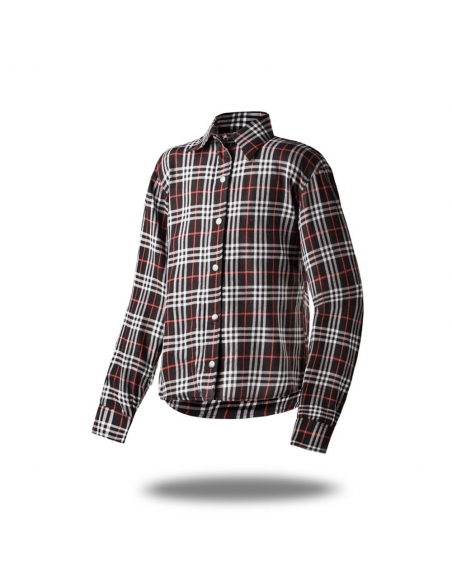 Poisoned Oxford Para-Aramid Camicia da Moto Uomo